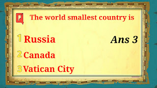 Q10.The World Smallest Country is