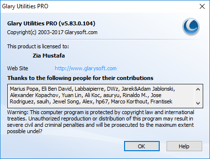 Glary Utilities Pro 5.91.0.112 + Key