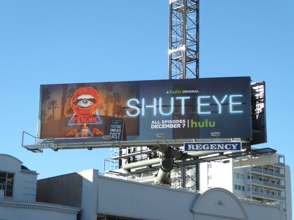 Shut Eye series premiere billboard
