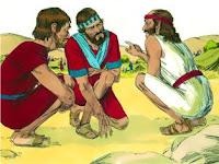 Исус прати съгледвачи от Йерихон в Гай
