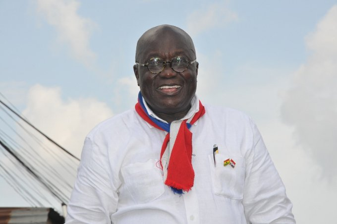 Tell Mahama I won't stop begging for votes - Akufo-Addo.