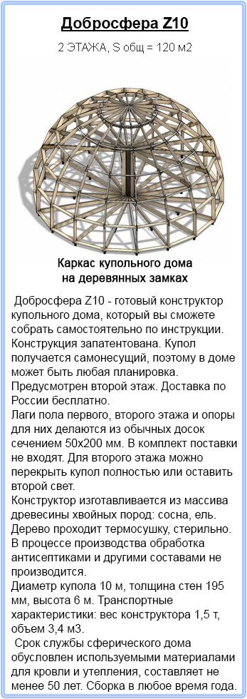 Строительство купольных домов в Крыму