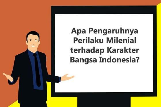 Ridwan Kamil: Apa Pengaruhnya Perilaku Milenial terhadap Karakter Bangsa Indonesia?