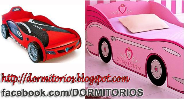 Camas en forma de carro fotos de dormitorios - Dormitorios de cars ...