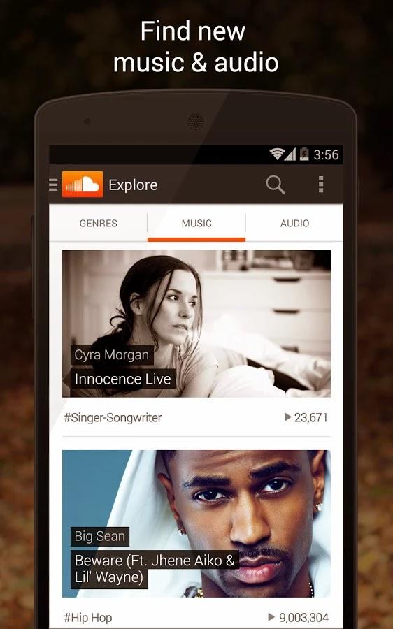 تحميل تطبيق ساوند كلاود SoundCloud للاندرويد برابط مباشر لوجو صور logo