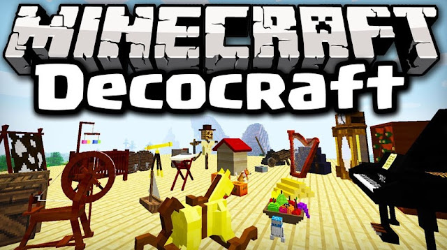 Lets Play Deco Craft Mod