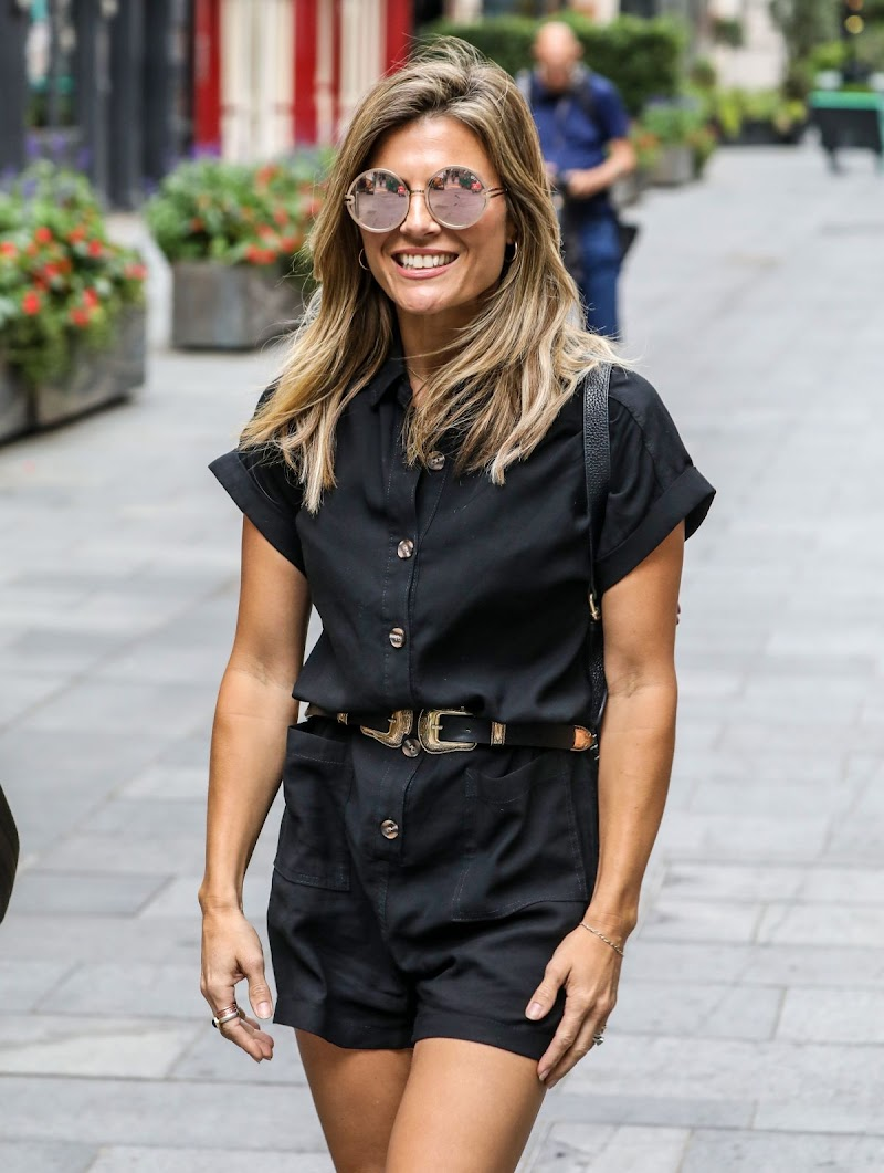 Zoe Hardman Snapped at Heart Radio in London 24 Jul -2020