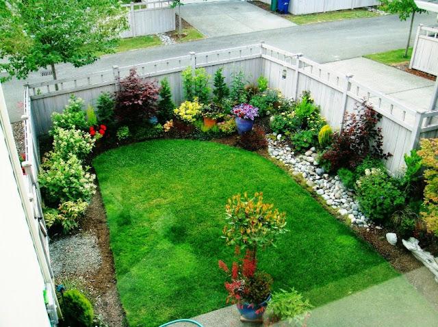 desain taman di lahan sempit
