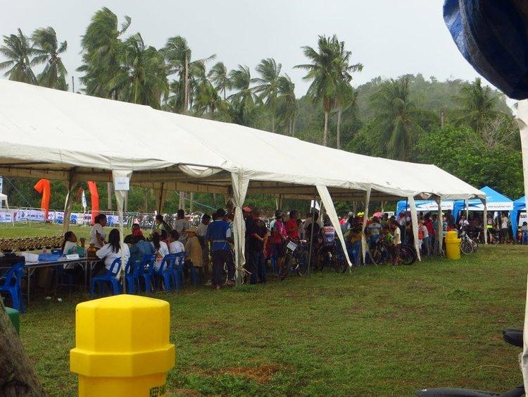 палатка для зрителей