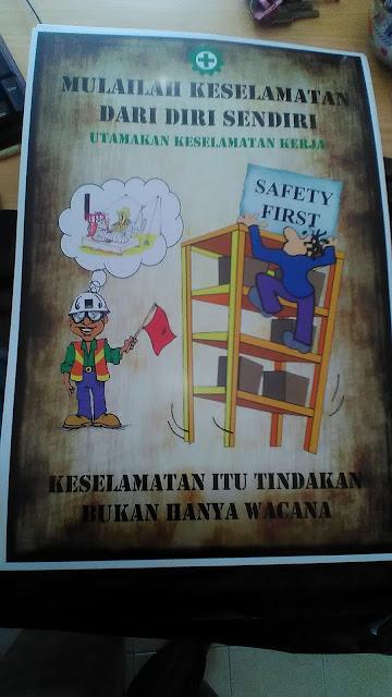 Poster Keselamatan Kerja