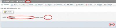 cara membuat database dengan mysql