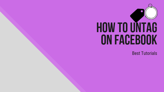 How To Untag People On Facebook<br/>