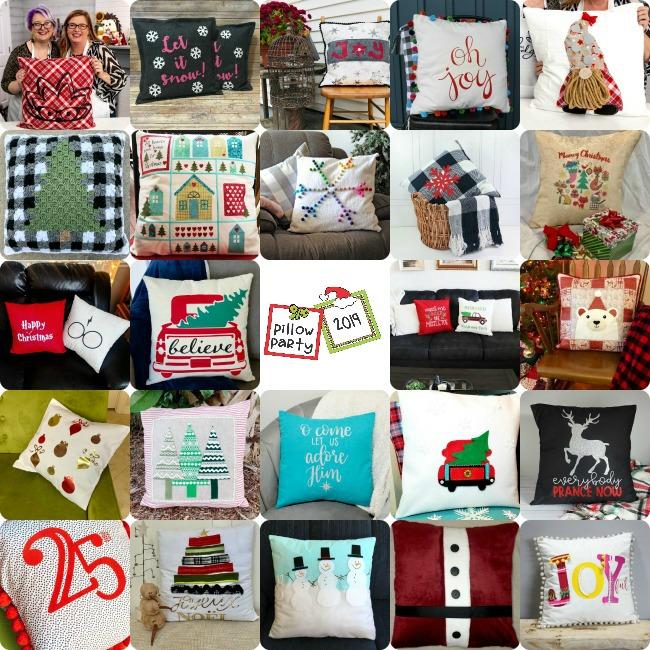 24 DIY Holiday Pillows