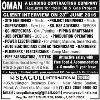 oil and gas company jobs in oman