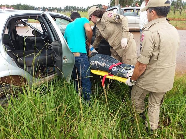 Mulher embriagada entra na contramão, causa acidente e acaba detida pela Polícia