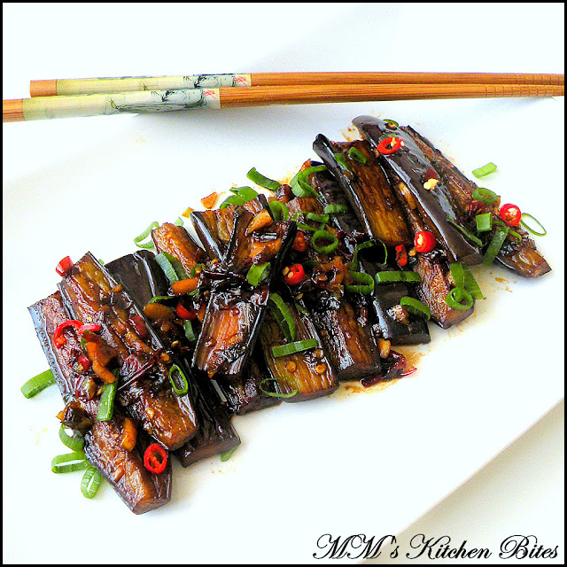 Eggplant in Sweet and Spicy Garlic Sauce mmskitchenbites