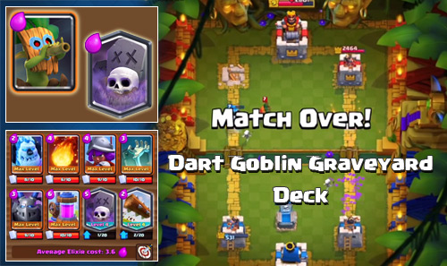 Kombinasi Deck Dart Goblin Graveyard Clash Royale