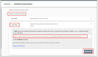 Cara Daftar URL Blog di Google Search Console