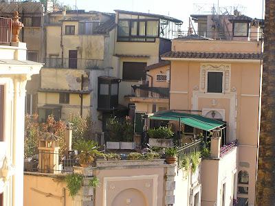 Róma, háztetők