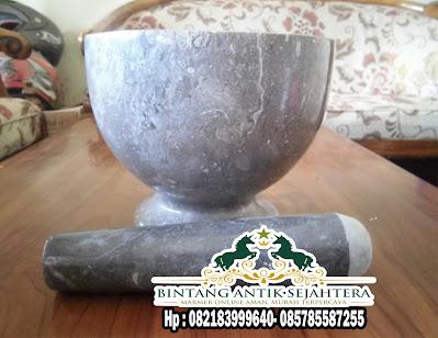 Tumbukan Obat Marmer | Pestle dan Mortar Marmer
