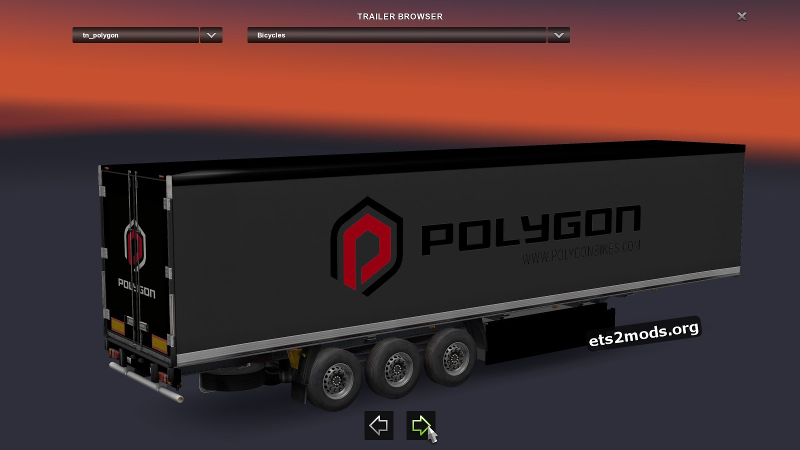 Trailers Pack: Bicycle and Parts