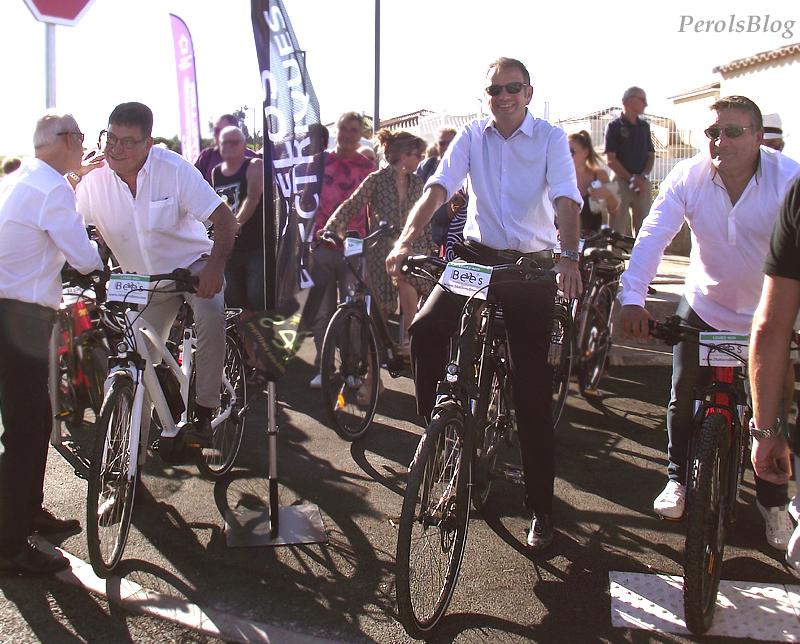 Inauguration de la Route des Terres Noires à Pérols