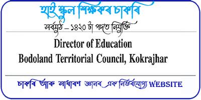 Graduate Teacher Recruitment 2021 in BTC 1420 Post