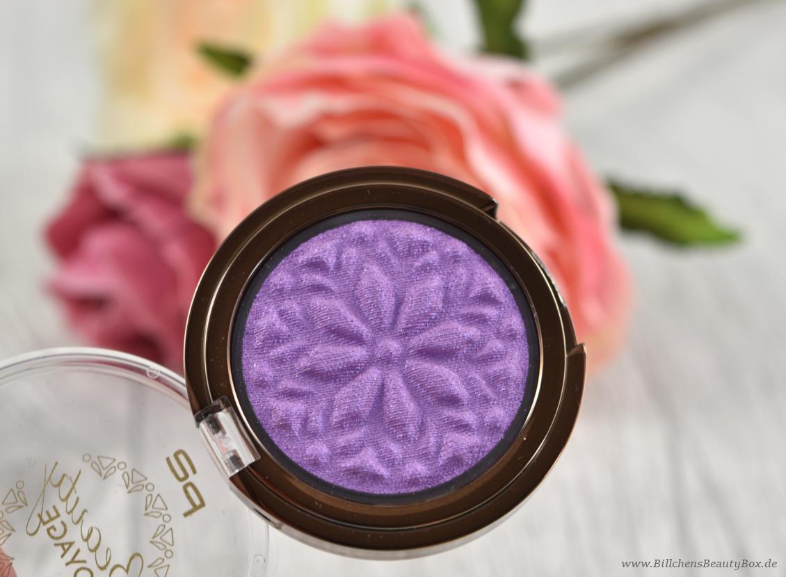 p2 cosmetics - Beauty VOYAGE Limited Edition - moroccan love eye shadow - vivid splash