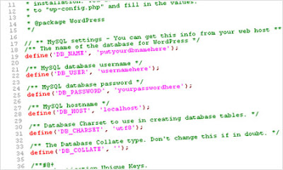 Dork buscando arquivo confg do wordpress