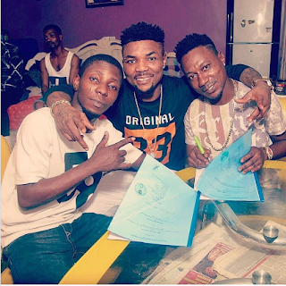 See The Two New Artist Oritsefemi Sighed To His Label MSN Gang