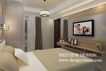 Jasa desain 3d interior apartemen murah berkualitas