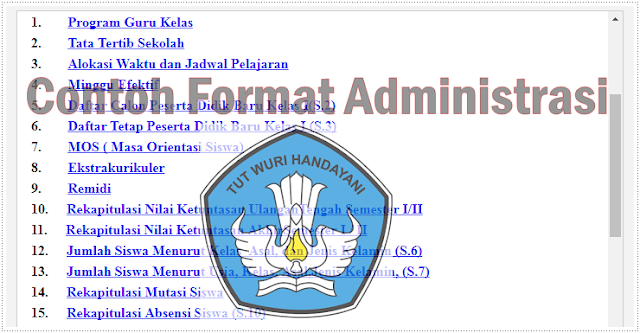 Download Contoh Administrasi Keuangan Sekolah Versi 2019