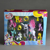MLP Fake Princess Brushable and Blind Bags