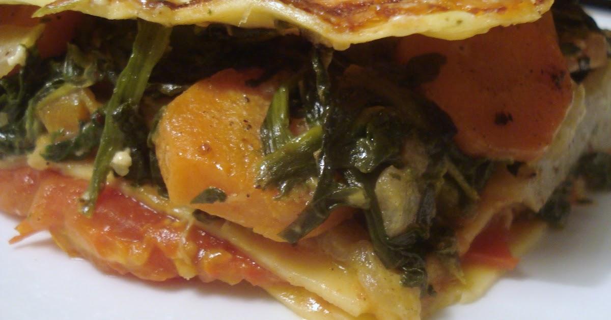 DANS L'ASSIETTE DES AUTRES: Lasagnes aux légumes d'hiver à ...