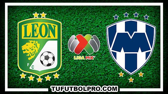 Ver Leon vs Monterrey EN VIVO Por Internet