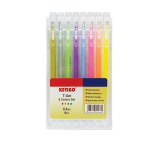 Kenko - T-Gel Pen 8 Colors set