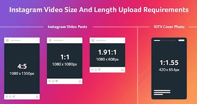 Ukuran Video Feed Instagram Terbaru