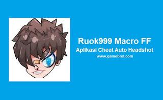 Cheat FF Ruok999 Macro Mod APK Auto Headshot Free Fire Terbaru 2021 Anti Banned