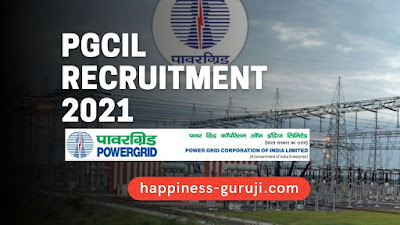PGCIL Technical Posts Recruitment 2021 | Apply Online for Diploma Trainee Vacancy - Happiness Guruji
