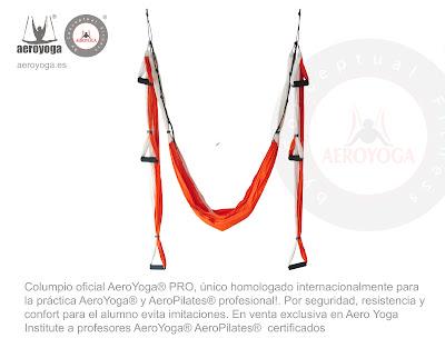 COLUMPIO AEROYOGA® PRO PARA METODO AEROYOGA® Y AEROPILATES® BY RAFAEL MARTINEZ
