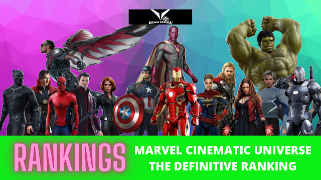 RANKING MARVEL CINEMATIC UNIVERSE MOVIE REVIEW