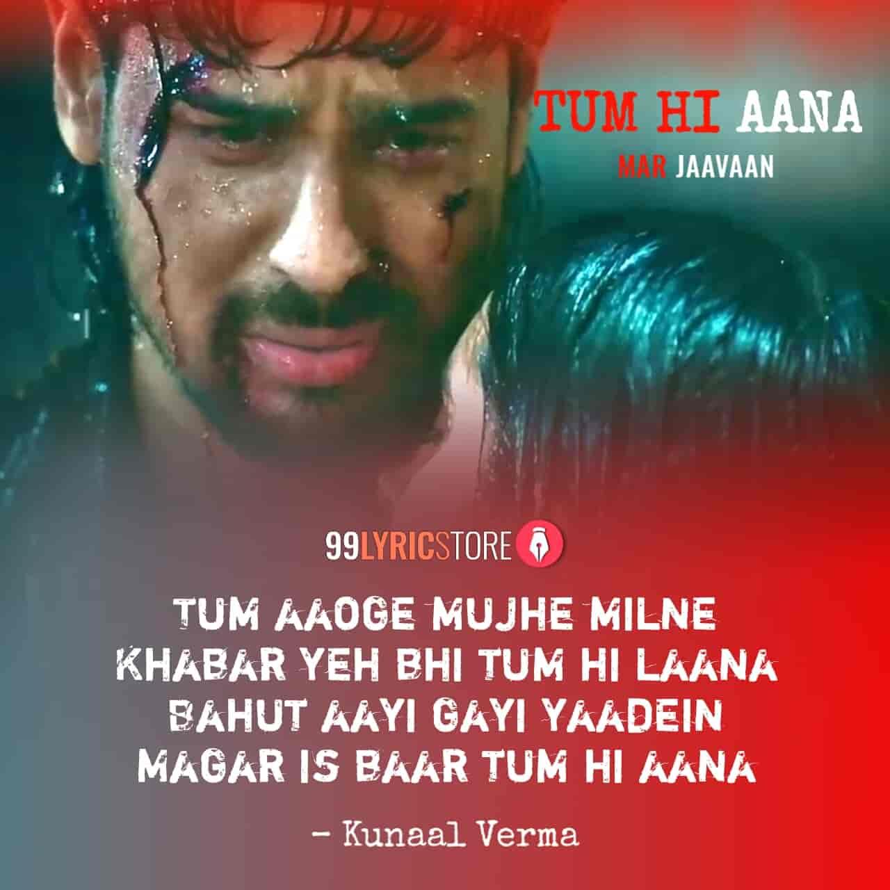 Tum Hi Aana Song From Movie Marjaavaan Images