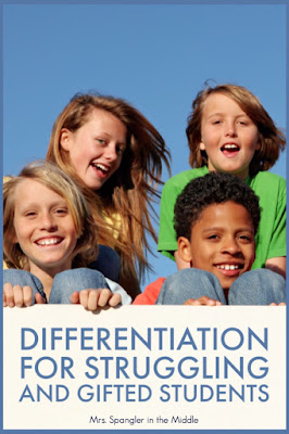 Need some ideas for differentiation in your middle or high school language arts class?  Then you'll love the ideas shared by the #2ndaryELA community here!  #strategies #lessonplans