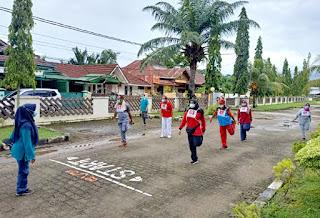 Pengurus LLI Sumbar Ikuti Tes Kebugaran di BKOM Padang