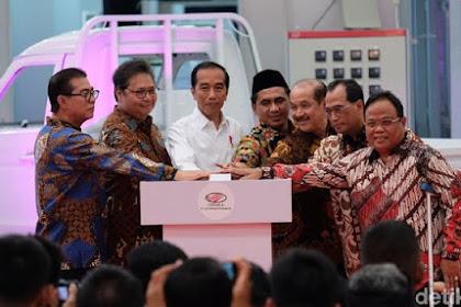 Di Depan Jokowi Bos Esemka Bantah: Kami Bukan Mobil Nasional