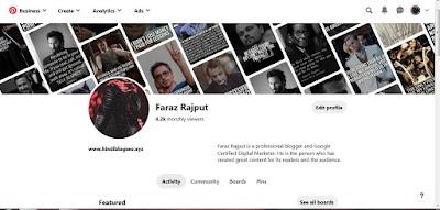 Faraz Rajput @pinterest