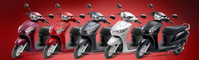Yamaha Alpha Scooter all colours images