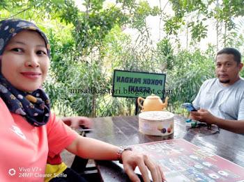 Minum Petang Di Cendol Songkok Tinggi Gazebo