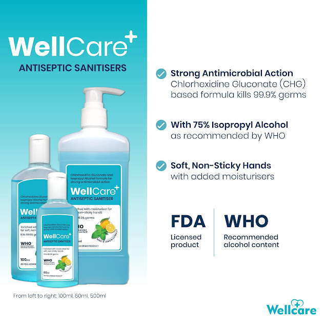 WellCare Products Distributorship ( Hand Sanitizer, Surface Disinfectant, Fruit and Vegetable Wash )