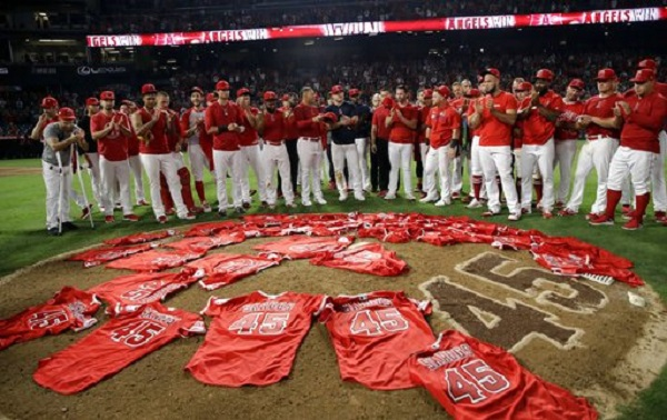 Tyler Skaggs Memory Honored With No-Hitter By LA Angels In First Home Game Since His Death